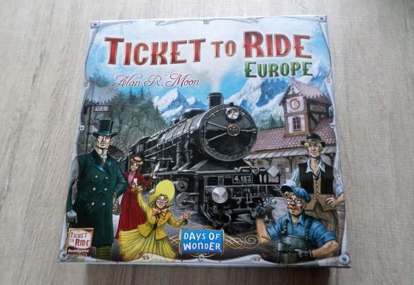 Spelletjes voor stelletjes de leukste gezelschapsspellen voor 2 personen, bordspellen voor twee personen, Ticket to ride Europe, leuke spellen voor hoogbegaafden