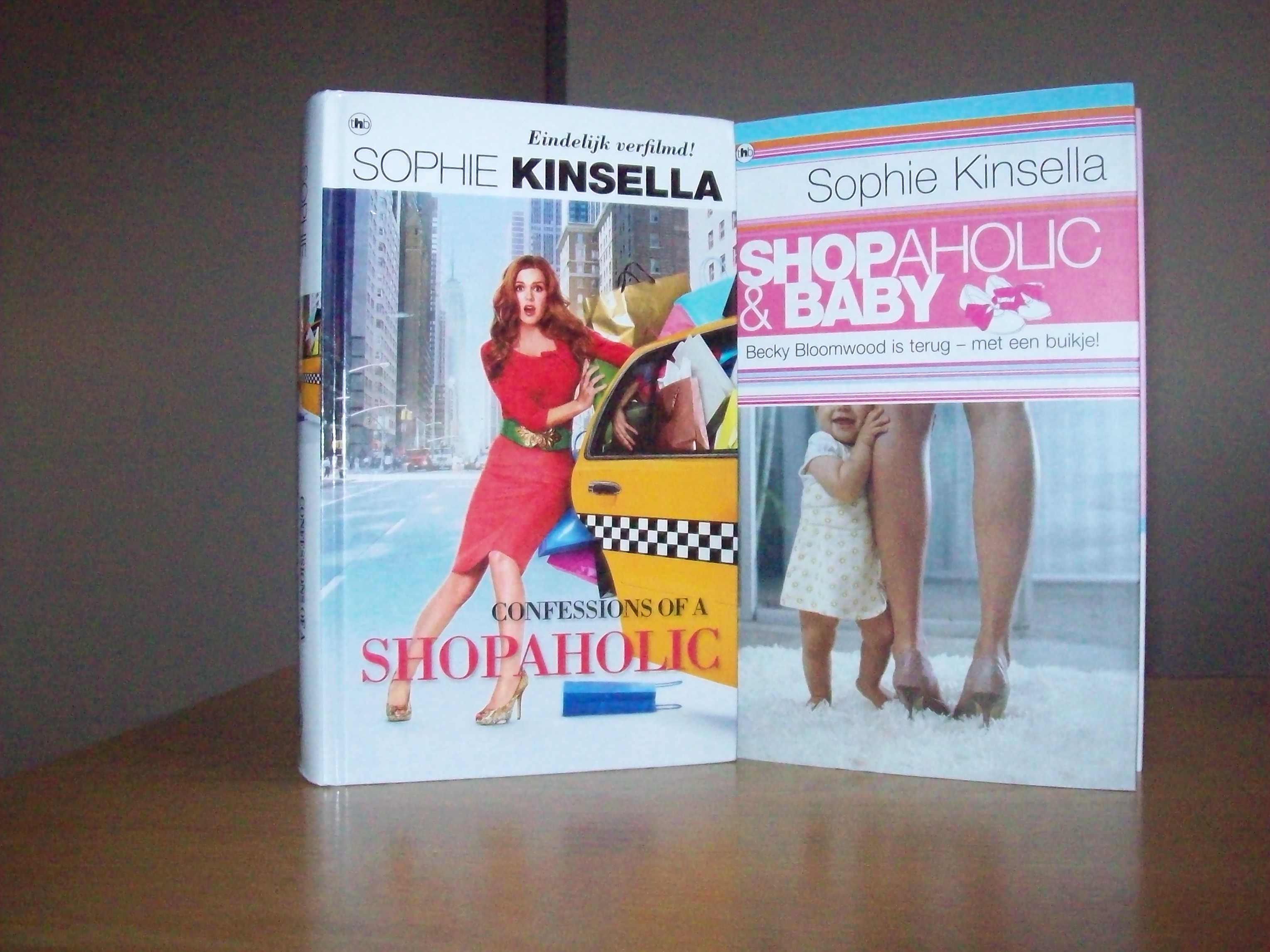 Shopaholic-boeken Sophie Kinsella