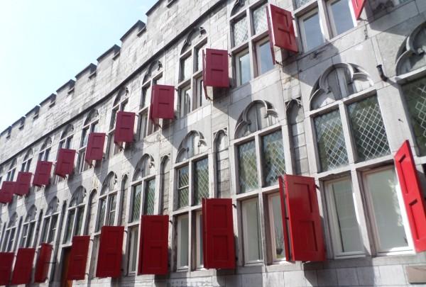 Weekendje Utrecht - huis met de rode luiken