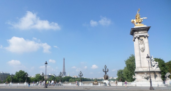 bezienswaardigheden in Parijs - Pont Alexandre