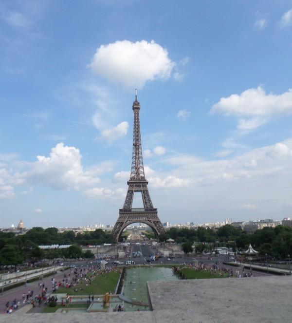 bezienswaardigheden in Parijs - Eiffeltoren