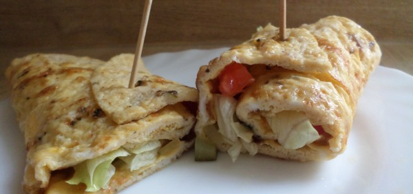 omelet-wraps