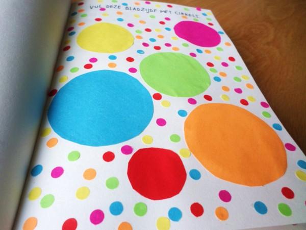 Dare to Wreck week 2 (7) Vul deze pagina met cirkels