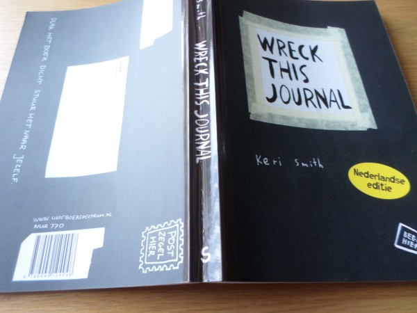 Dare to wreck (Wreck this journal-challenge)