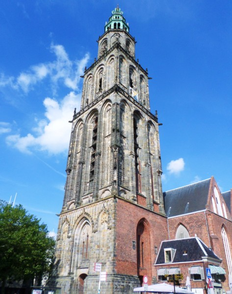 bezienswaardigheden in Groningen - Martinitoren