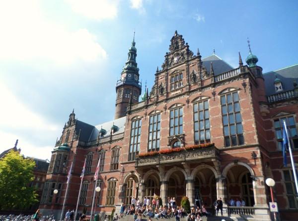 bezienswaardigheden in Groningen - Academia-gebouw Rijksuniversiteit Groningen