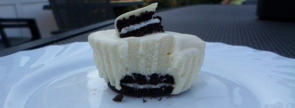 mini-Oreo-cheesecakes (no bake) met witte chocola