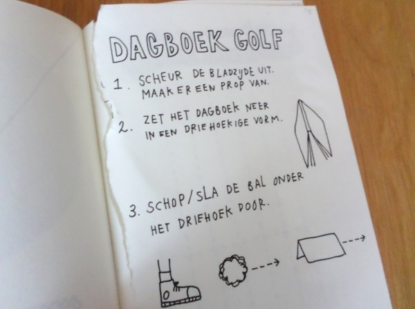 Dare to Wreck - Wreck this Journal - Dagboekgolf