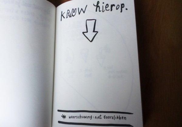 Dare to Wreck - Wreck this Journal-challenge - kauw hierop