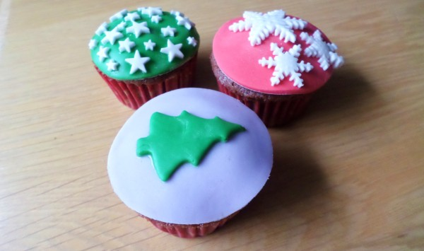 Recept kerstcupcakes for Decoratie cupcakes
