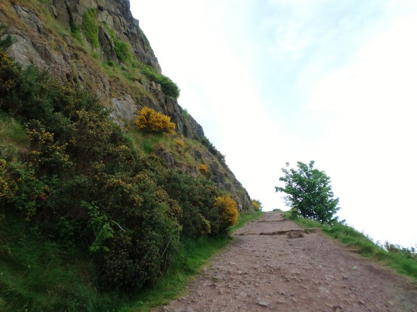 Arthur's Seat Edinburgh beklimmen