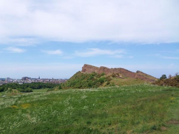 Arthur's Seat Edinburgh beklimmen, nepberg, moeilijke route