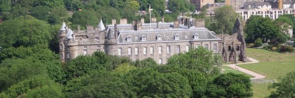 Arthur's Seat Edinburgh beklimmen, uitzicht