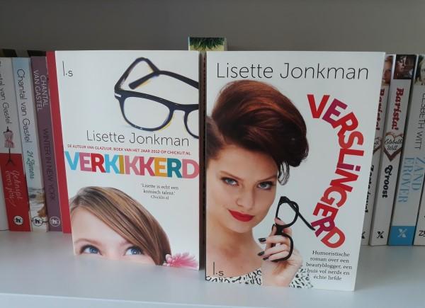 Boeken herlezen, Lisette Jonkman, Verkikkerd, Verslingerd