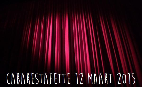 recensie Cabarestafette 12 maart 2015 Theaterhotel de Oranjerie Roermond