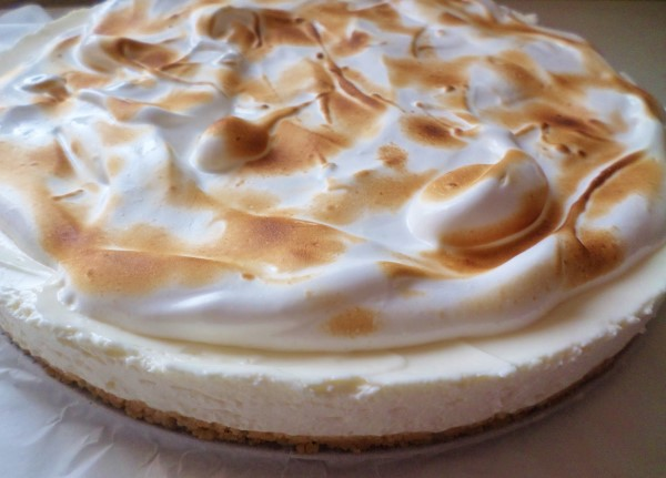 Citroencheesecake met merengue