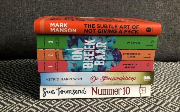 Favoriete boeken die ik las in 2020