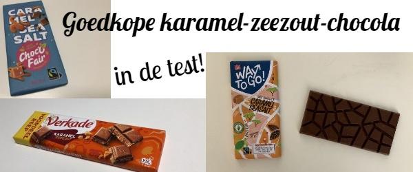 Getest goedkope karamel-zeezout-chocola, goedkope alternatieven voor Tony's Chocolonely