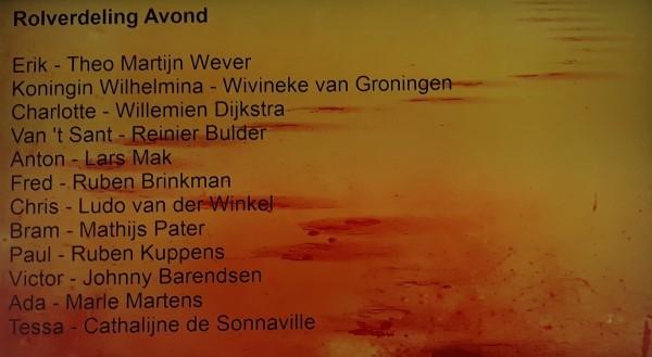 Plog Katwijk, Oegstgeest en Soldaat van Oranje - Soldaat van Oranje castboard donderdag 16 mei