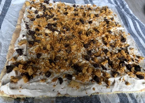 Recept de ultieme gezouten karamel cakerol, biscuitrol met karamel