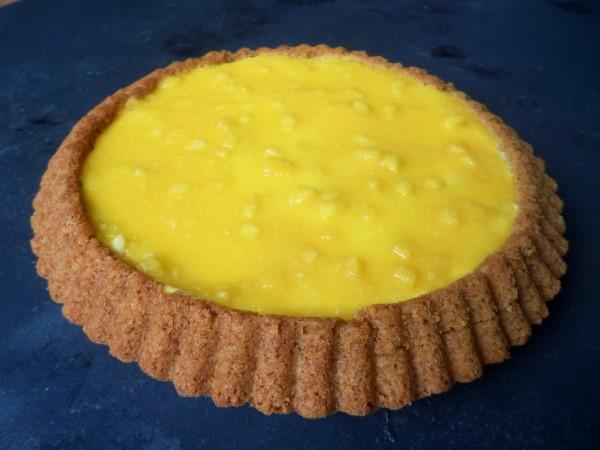 recept mango-bavarois-vlaai
