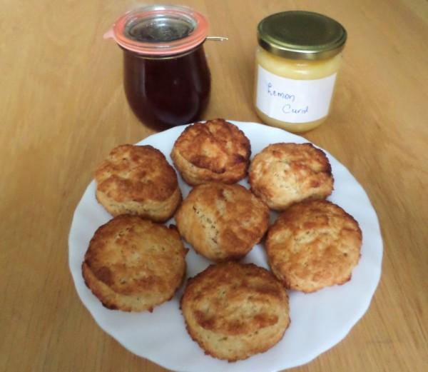 recept scones zonder ei voor ontbijt, brunch of high tea