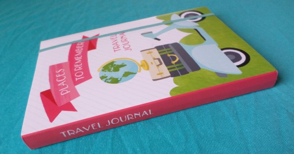 Reisdagboek, Travel Journal, Places to Remember, Bon Voyage, look inside travel diary
