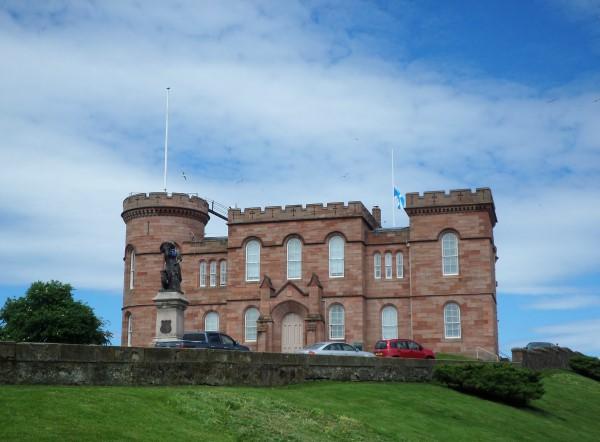 Schotse Hooglanden, wat te doen, bezienswaardigheden, Inverness Castle