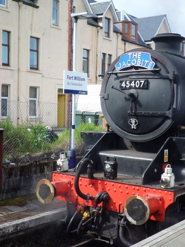 Schotse Hooglanden, wat te doen, bezienswaardigheden, Jacobite Steam Train, Fort William