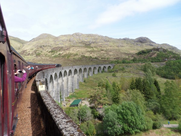 Schotse Hooglanden, wat te doen, bezienswaardigheden, Jacobite Steam Train, Glenfinnan Viaduct, Harry Potter