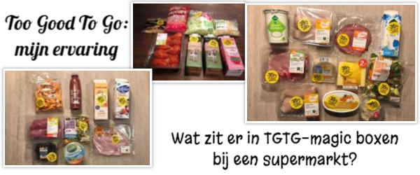 Too Good Too Goo ervaring supermarkt COOP, wat krijg je bij de supermarkt in je Magic Box, wat zit er in een Too Good To Go pakket bij de supermarkt