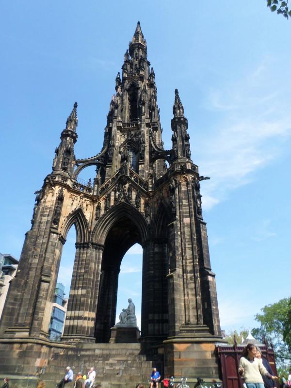 Wat te doen in Edinburgh, bezienswaardigheden, Schotland, Scott Monument