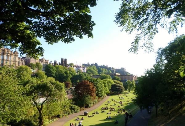 Wat te doen in Edinburgh, bezienswaardigheden, Schotland, Princes Street Gardens