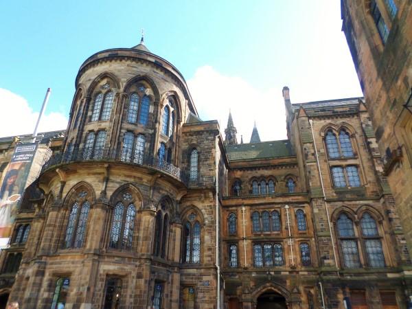 Wat te doen in Glasgow, stadswandeling met bezienswaardigheden, University of Glasgow