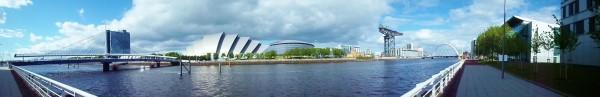 Wat te doen in Glasgow, stadswandeling met bezienswaardigheden, Clyde, Clyde Auditorium, SECC