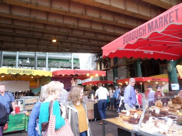 Wat te doen in Londen,  bezienswaardigheden, Borough Market