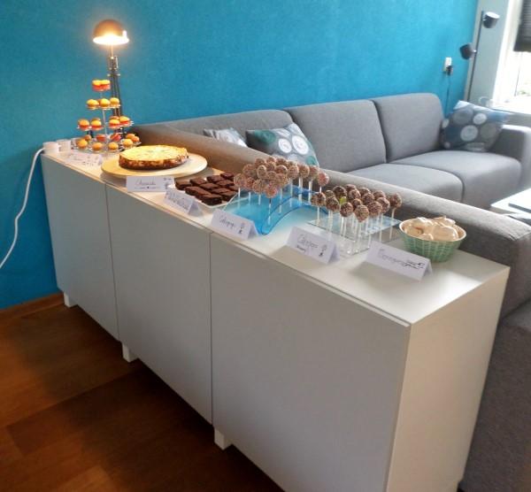Zelf dessert table maken, tips om zelf een sweet table te maken, dessert table maken voor housewarming, verjaardag, feestje