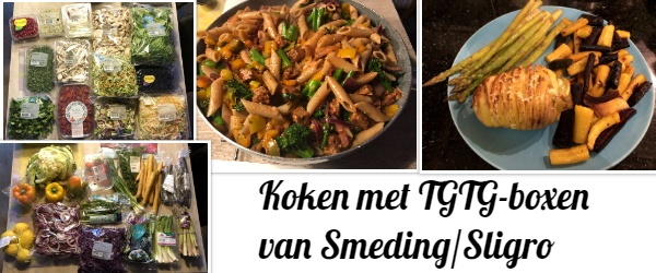 Smeding Too Good To Go, TGTG boxen Smeding Sligro, wat zit er in TGTG pakket Smeding Sligro