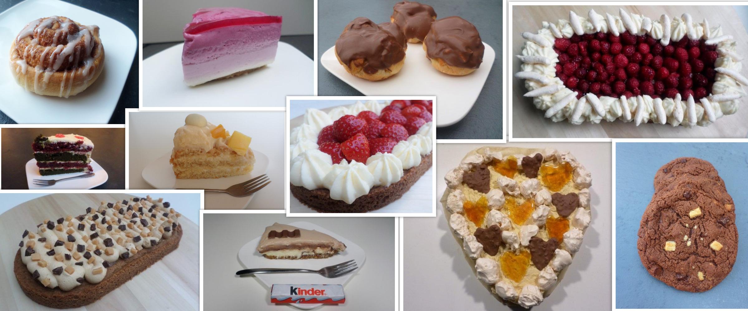 baksels, verschillende soorten gebak, bakchallenge jezelf meer uitdagen met bakken