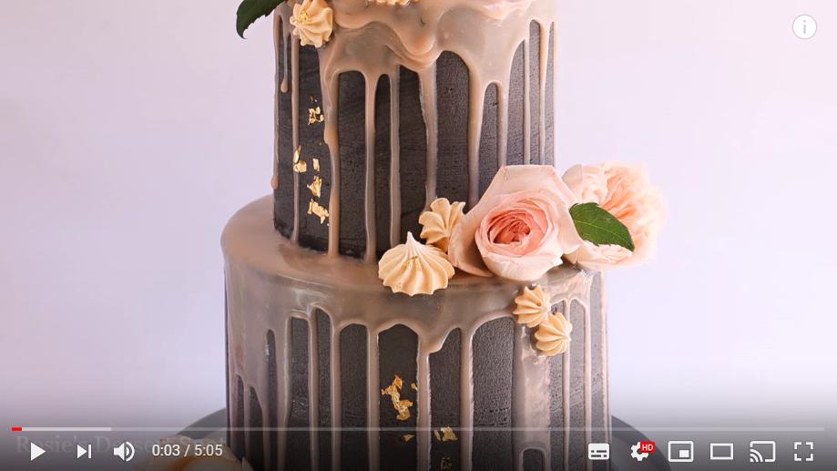 Ergernissen bij het kijken van bakvideo's en kookfilmpjes, lelijke dripcake