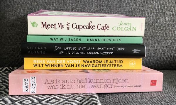 stapel boeken, Gelezen boeken lente 2021