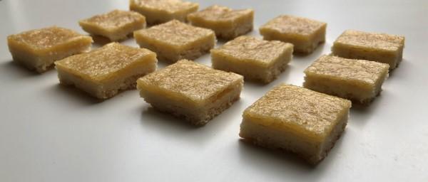 Recept citroenkoekjes, lemon bars